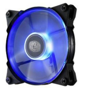 CaseCooler 120*120 Blue Led Jet Flo